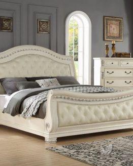 set tempat tidur mewah untuk pengantin