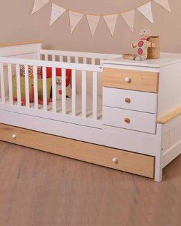 tempat tidur bayi sorong