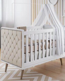 box bayi retro kayu solid