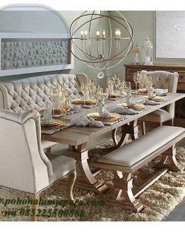 meja makan bangku sofa