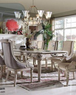 set meja makan ukir mewah
